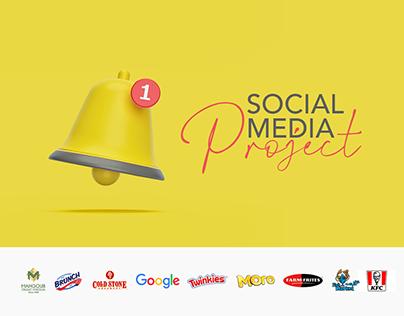 Social media Designs' project