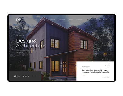 UX/UI Real Estate Agency