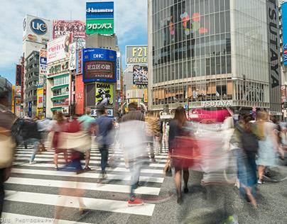 Tokyo Zebra Crossing