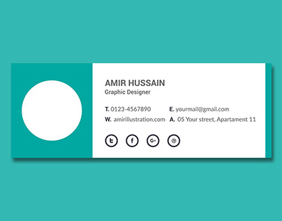 Free Download Email Signature Template
