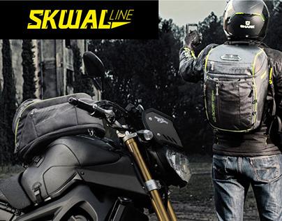 """Design of set of luggage """"SKWAL LINE"""""""