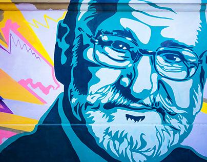 Il murale di via Folchi