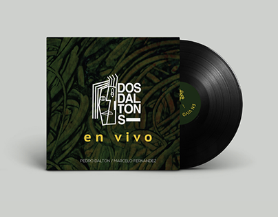 Diseño Disco vinilo, Imagotipo & Afiche
