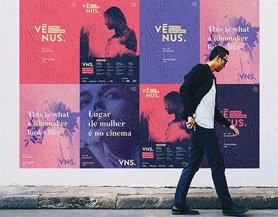 Vênus Mostra de Cinema Feminino | Branding
