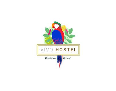 Vivo Hostel - Branding Design