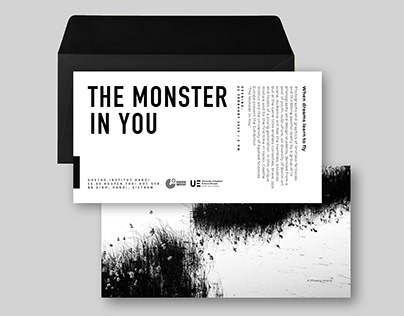 The Monster in You / CI for exhibition