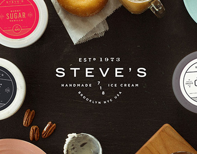 Steve's Ice Cream Brand & Packaging