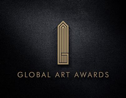 Logo Design for Global Art Awards