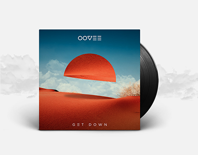 GET DOWN - Vinyl Artwork Concept