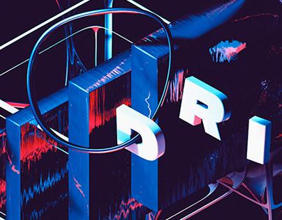 Drift - 3D Abstract Art Cinema 4D