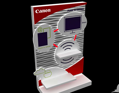 Canon Show Stand