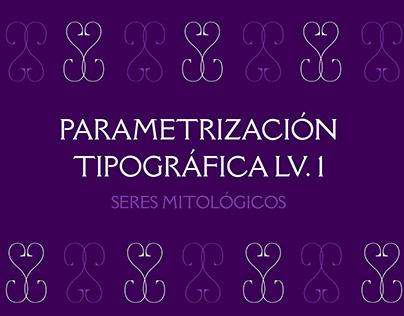 Parametrización Tipográfica