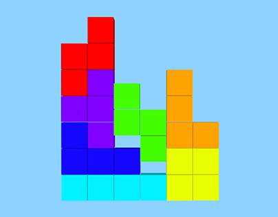 Tetris 3D Extrude