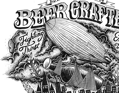 Nébuleuse Beer Box Art