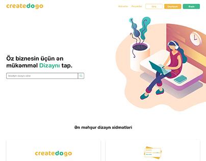 CreateDoGo Website Design