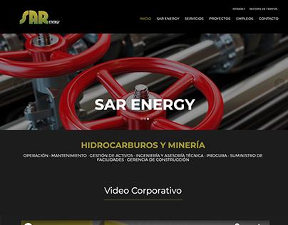 Re Diseño de sitio web SAR Energy 2016