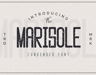 Free Marisole Condensed Sans Serif Font
