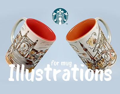Starbucks style mug