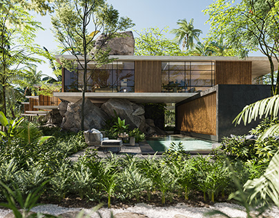 UMAN HA - Luxury Jungle Villa Mexico by Zepto
