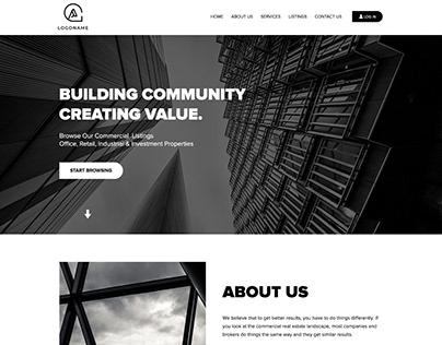 Real Estate Company - Website Design