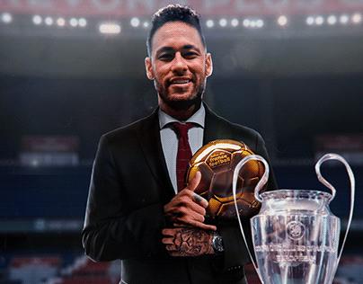 Neymar Jr Ballon d'Or [Soccer Design]