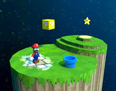 Super Mario 3D Models (School)