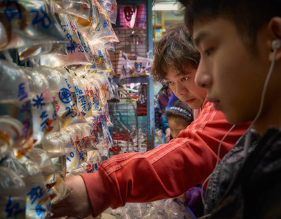 Discovering Tung Choi Street