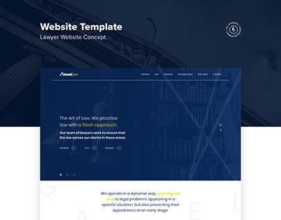 Lawyer Associates Website Template