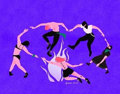 The Feminist Dance