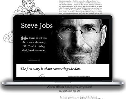 Interactive Storytelling Website