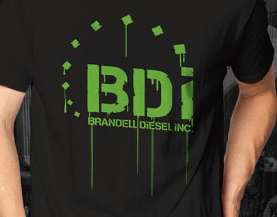 Brandell Diesel Paint Runs T Shirt