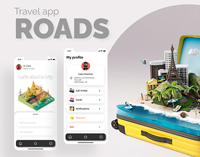 Travel app ROADS
