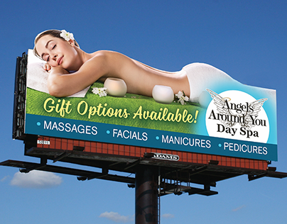 Angels Around You Billboard