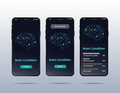 Neuralink-inspired app UI: XD Daily Creative Challenge