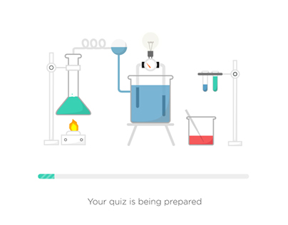 Chemistry Course Loading animation