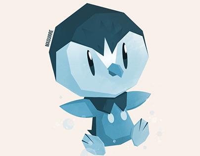 Pokemon starters 02 (sinnoh to kalos)