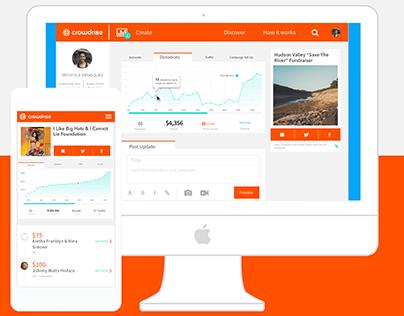Crowdrise Platform Optimization