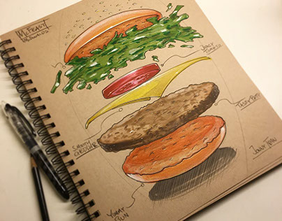 My Sketchbook (Sketch pile) 2016 - part 5