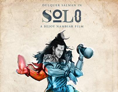 SOLO Movie minimal poster