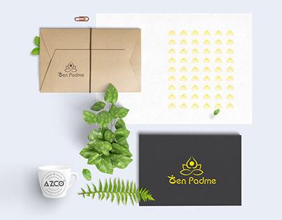 Zen Padme - Design Logo Azco