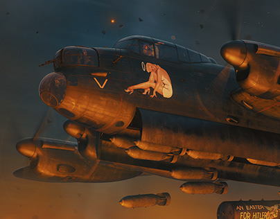 Lancaster MkIII (V for Virgin)
