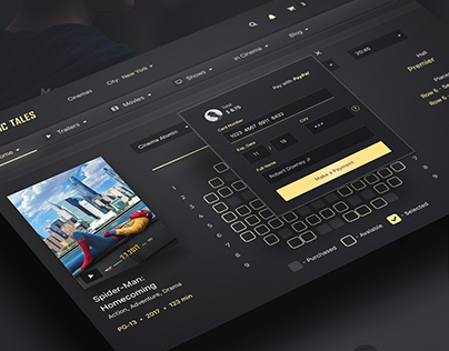 Atomic Tales Web PSD UI Kit