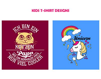 KIDS T-SHIRT DESIGNS