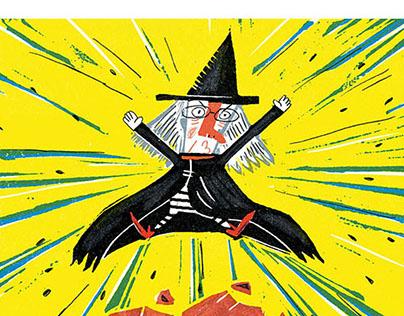 《噗噜噗噜蜜》图书插画 Children's book illustration