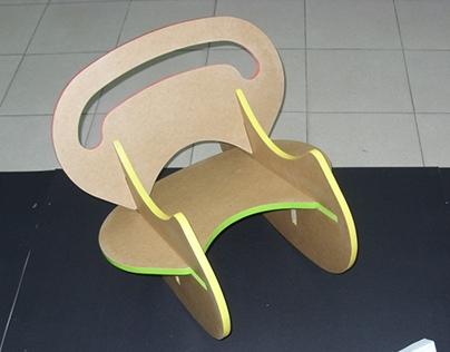 Botero, Rocking Chair for Children