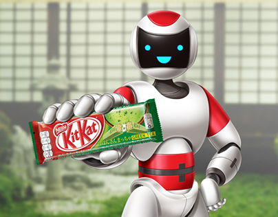 Kit Kat Green Tea