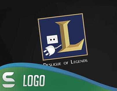 Logo - Desligue of Legends