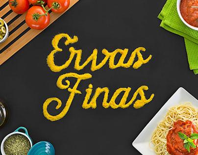 ERVAS FINAS CONGELADOS - Branding e Website