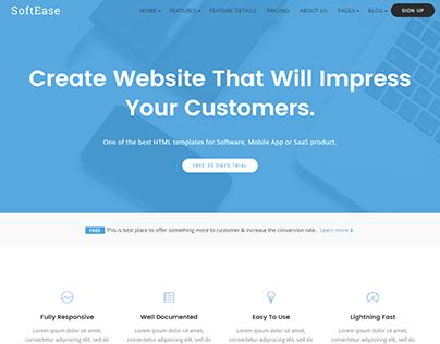 SoftEase - Multipurpose Software / SaaS Product WordPre