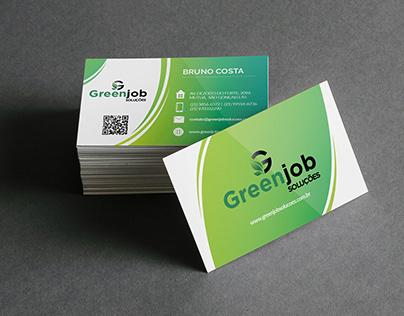 Cartão Greenjob Soluções